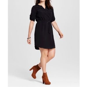 Mossimo Convertible Sleeve Dress L